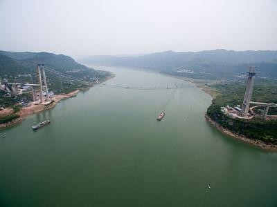 Yangtze river. (Xinhua/Liu Chan/IANS)
