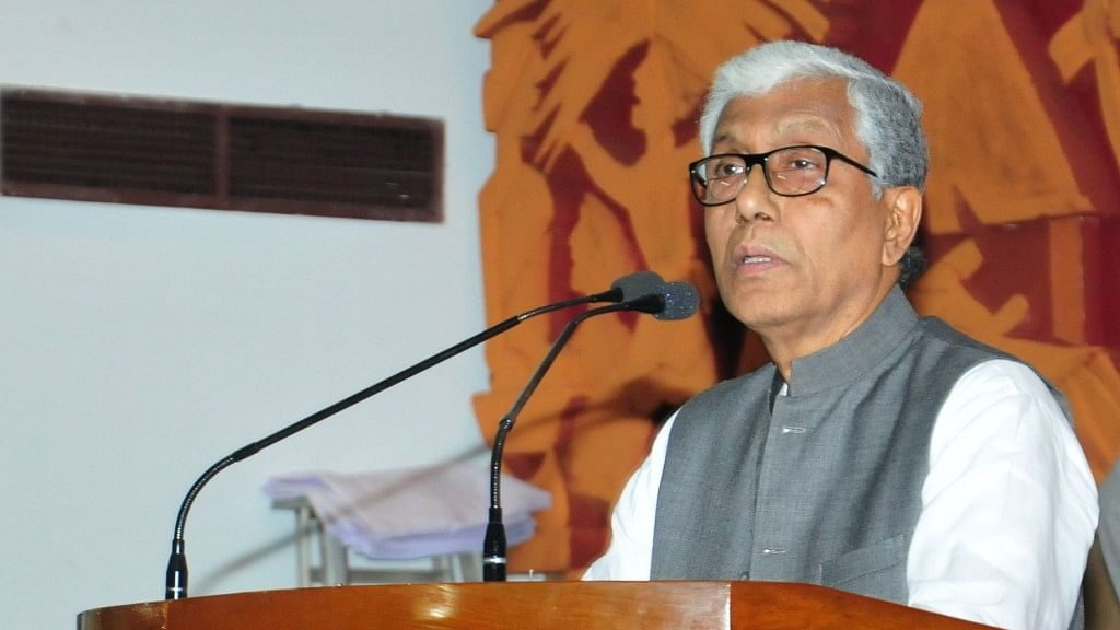 CPI-M's Manik Sarkar Is 'Poorest' CM With Rs 2,410 in Bank Account