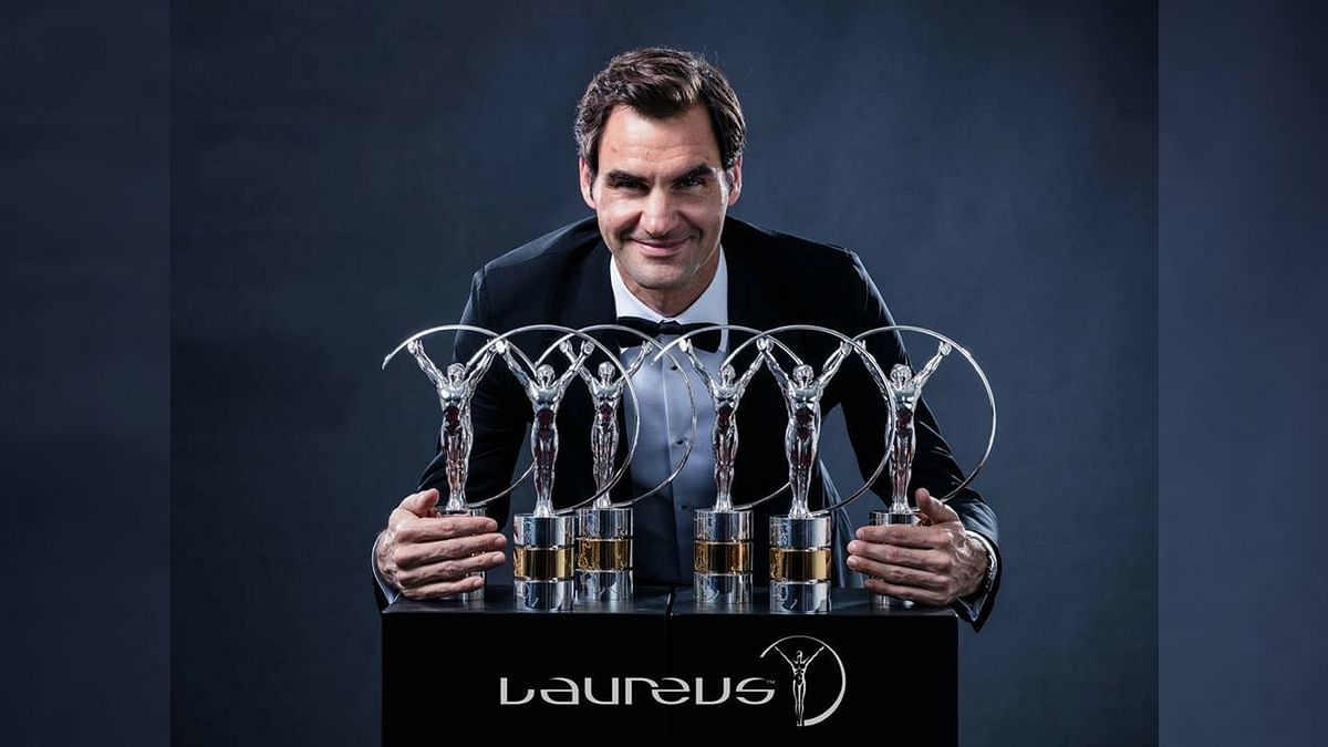 World No1 tennis star Roger Federer received the Sportsman of the Year and Comeback awards.