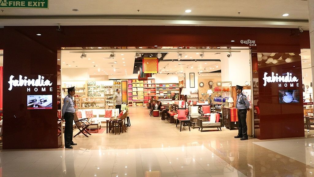 Image of a fabindia store used for representaton.