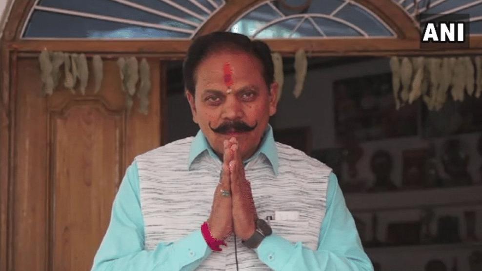 Ramesh Saxena, BJP leader from Madhya Pradesh, urged people to chant the Hindu hymn, Hanuman Chalisa, to prevent natural disasters.