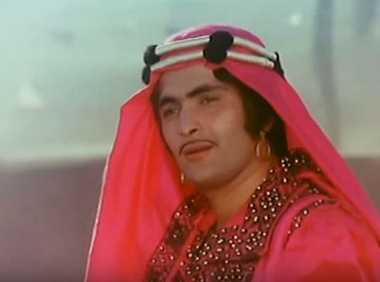 Rishi Kapoor in a still from <i>Laila Majnu</i>.&nbsp;