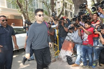 Mumbai: Filmmaker Karan Johar at actor Anil Kapoor