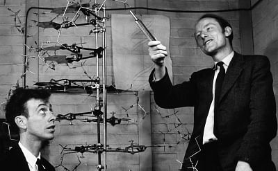 Francis Crick and James Watson, who not only discovered the structure of DNA but wrote about compellingly and humourously.