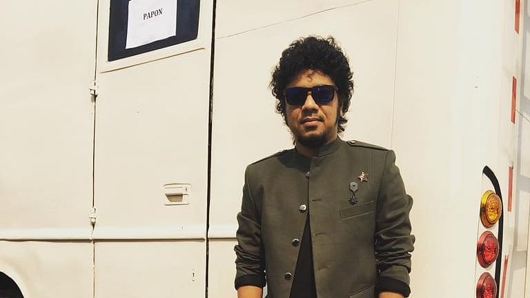 Assamese singer Papon.
