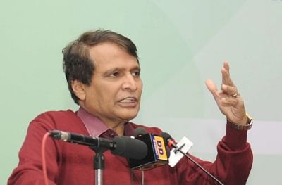 Union Minister for Commerce and Industry Suresh Prabhu. (File Photo: IANS)