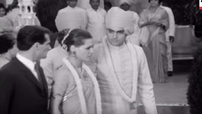 Rajiv Gandhi and Sonia Gandhi tied the knot on 25 February 1968.