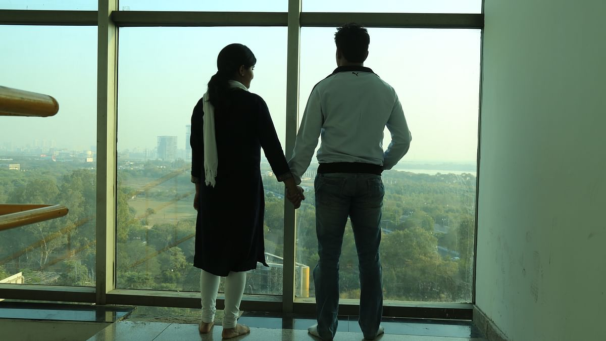 Sneha and Zakir's love blossomed on Facebook.