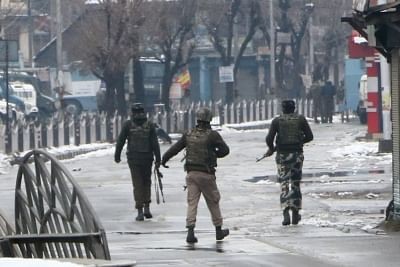 Gunfight erupts in J&K. (File Photo: IANS)