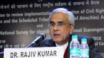 NITI Aayog Vice Chairman Rajiv Kumar.