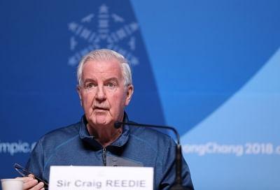 Craig Reedie. (Xinhua/Bai Xuefei/IANS)