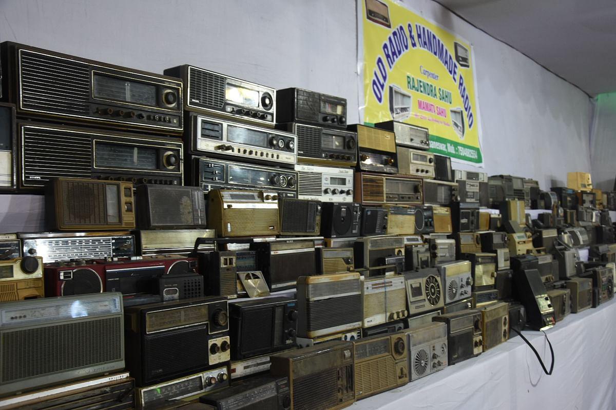 Rajendra Sahu currently owns 250 sets of radios.