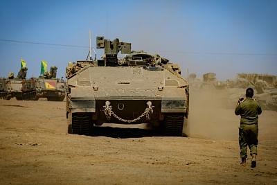 Preparations begin for US-Israeli joint military drill. (Xinhua/Ayal Margolin-JINI/IANS)
