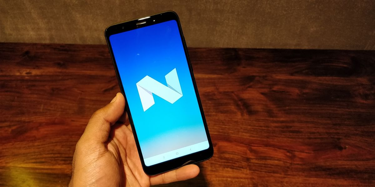 The Redmi Note 5 runs on Android 7.1.2 Nougat