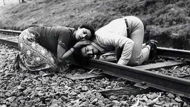 A still from <i>Moondram Pirai </i>(remade to <i>Sadma, </i>one of Sridevi's best).