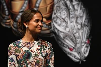 Actress Alicia Vikander (Xinhua/Then Chih Wey/IANS)