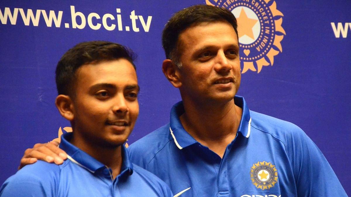 Watch Rahul Dravid and Prithvi Shaw Speak About U-19 World Cup Win