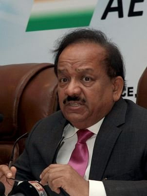 Union Minister Dr. Harsh Vardhan. (Photo: IANS)