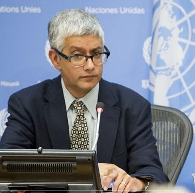 Farhan Haq, the deputy spokesperson for United Nations Secretary-General Antonio Guterres. (Photo: UN/IANS)