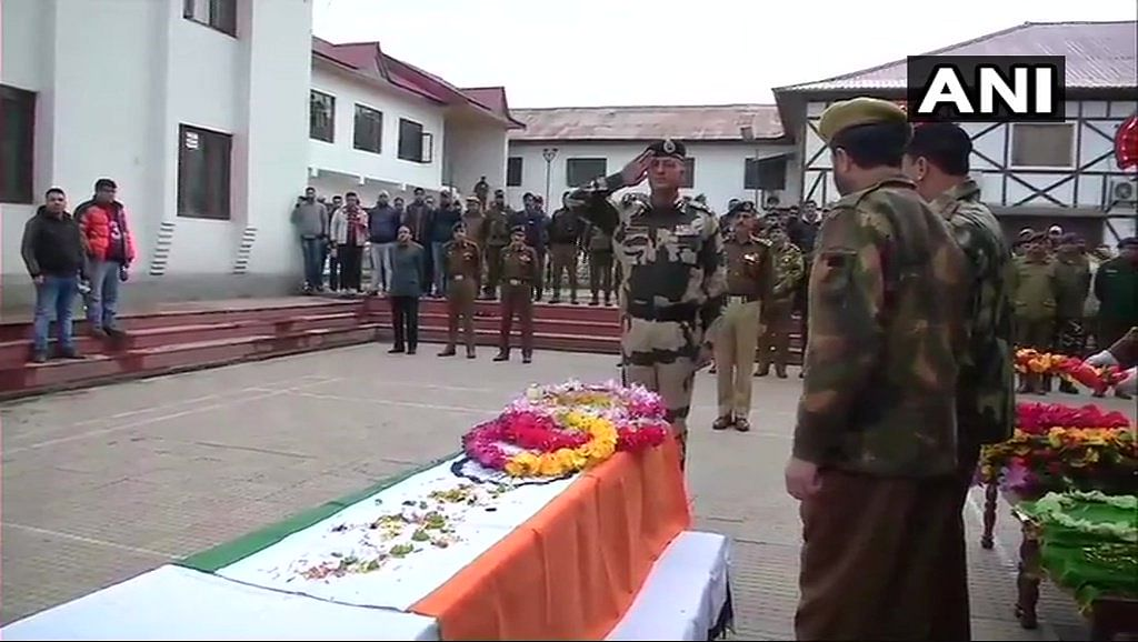 Wreath laying ceremony for SGCt Kultar Singh.
