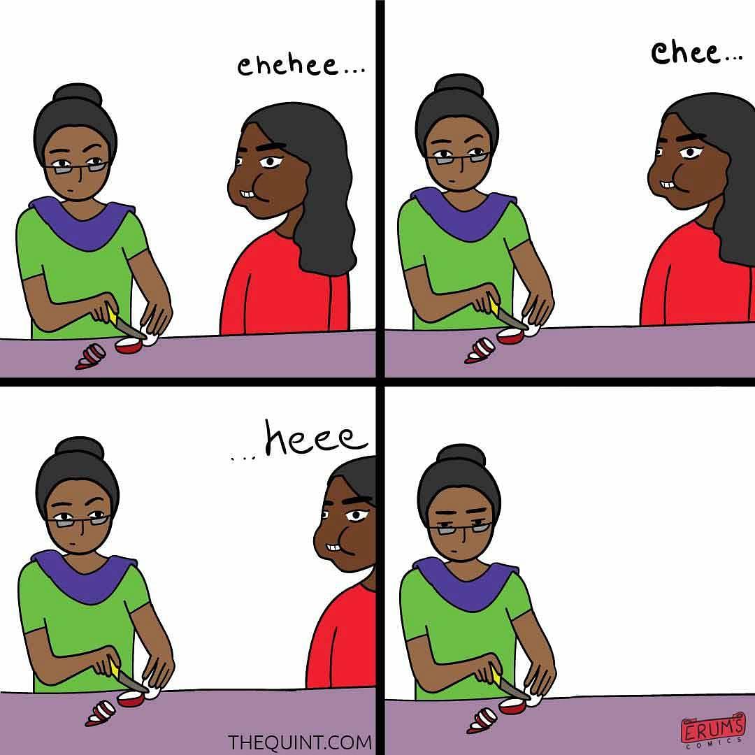 Erum's Comics: What Marriage?
