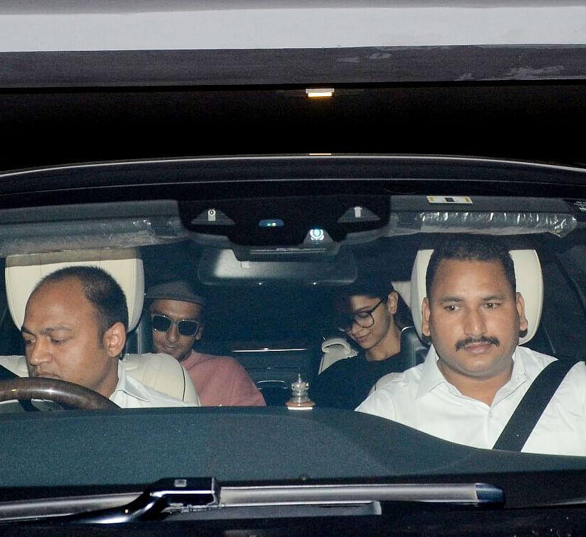Ranveer Singh and Deepika Padukone spotted together.