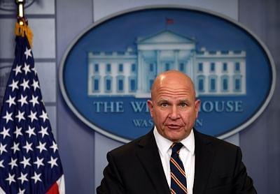 U.S. National Security Adviser H.R. McMaster. (Xinhua/Yin Bogu/IANS)