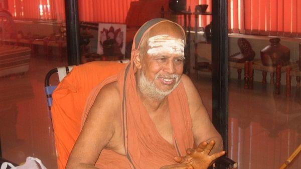 Swami Jayendra Saraswati, the Sankaracharya of Kanchipuram Mutt in Tamil Nadu. (Photo: Sandeep Mahankal/IANS)