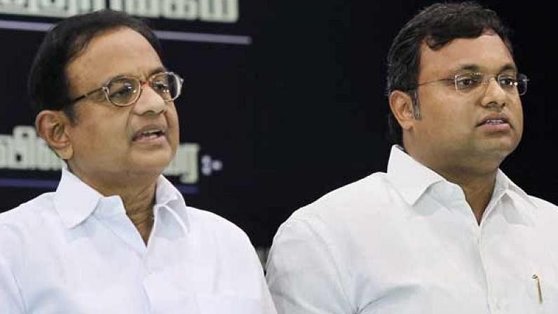 P Chidambaram (L) had on 30 May moved the court seeking protection from arrest in the case.