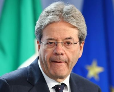 Italy Prime Minister Paolo Gentiloni. (File Photo: IANS)