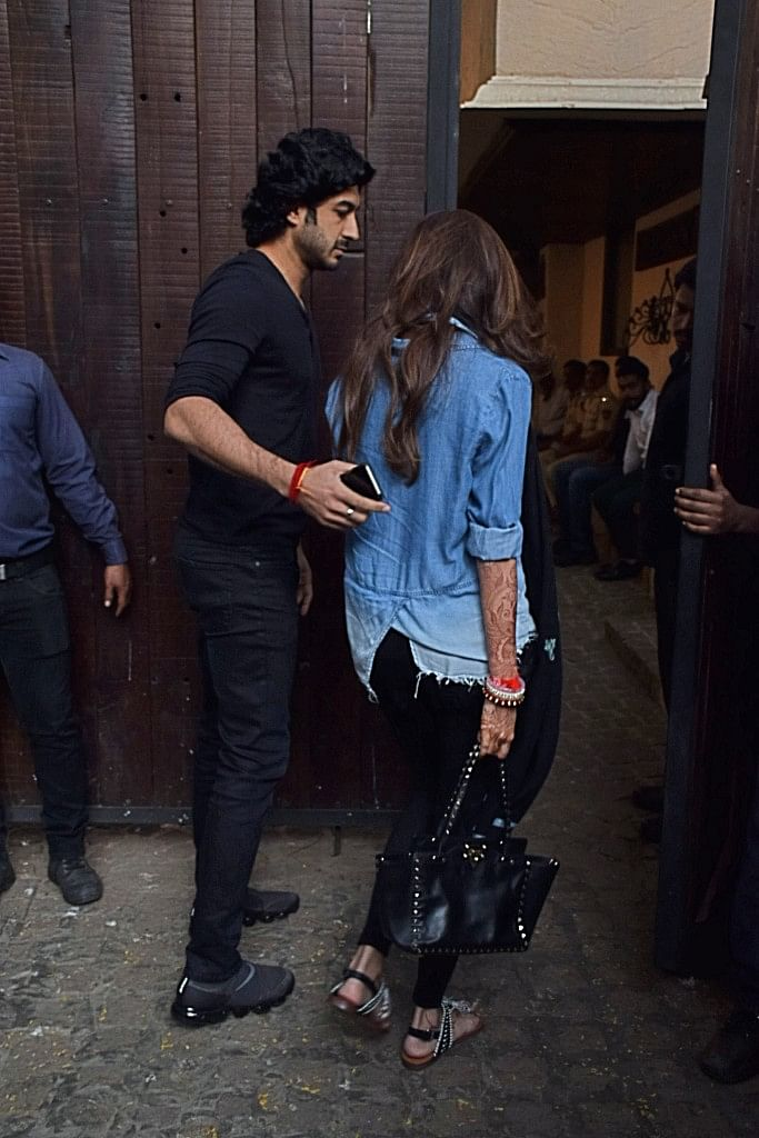 Mohit Marwah and his newly wedded wife, Antara.