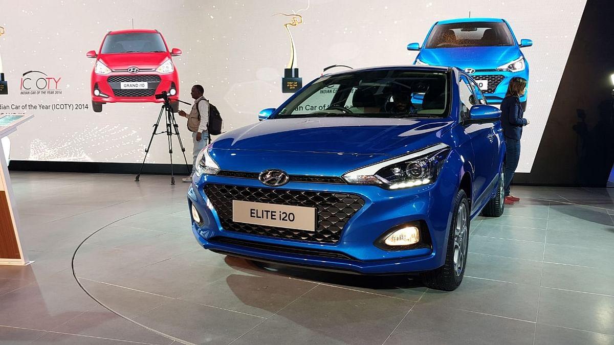 Hyundai Launches Facelifted Elite i20,  Ioniq & More at Auto Expo