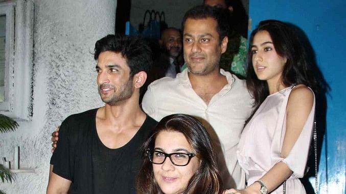 Sushant Singh Rajput, Abhishek Kapoor, Sara Ali Khan and Amrita Singh.