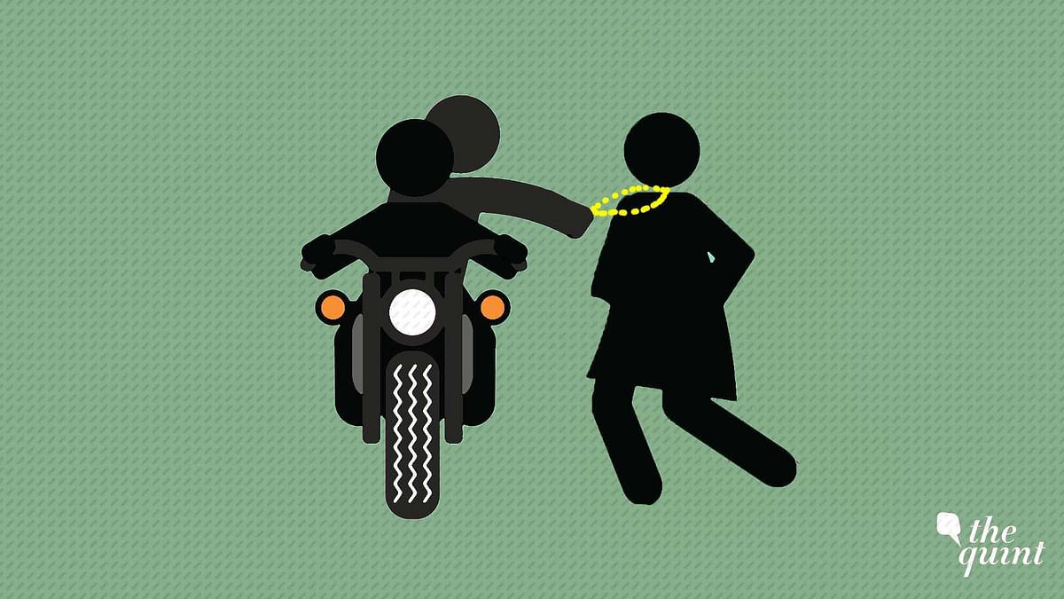 Two Incidents Of Chain Snatching in Broad Daylight Shock Chennai