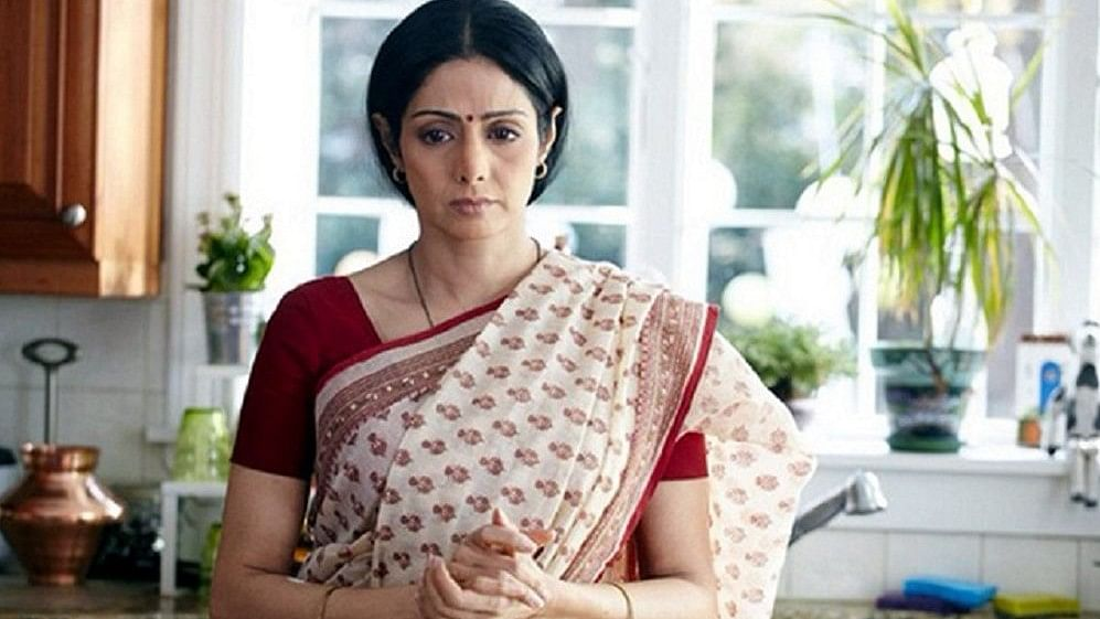 Sridevi from a still in the film, <i>English Vinglish.</i>