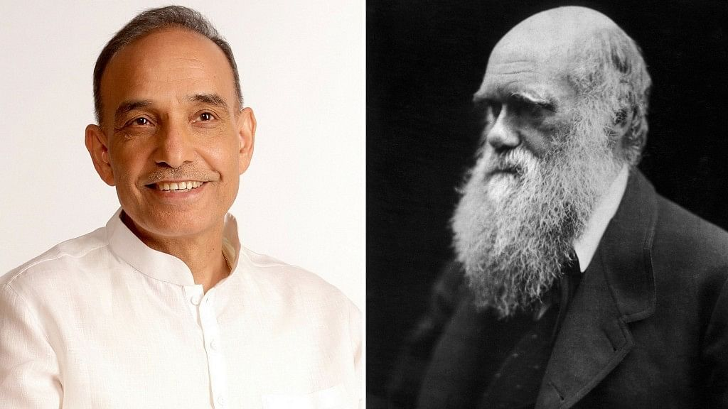"""Union Minister Satyapal Singh had claimed that Charles Darwin's theory of evolution of man was """"scientifically wrong."""""""