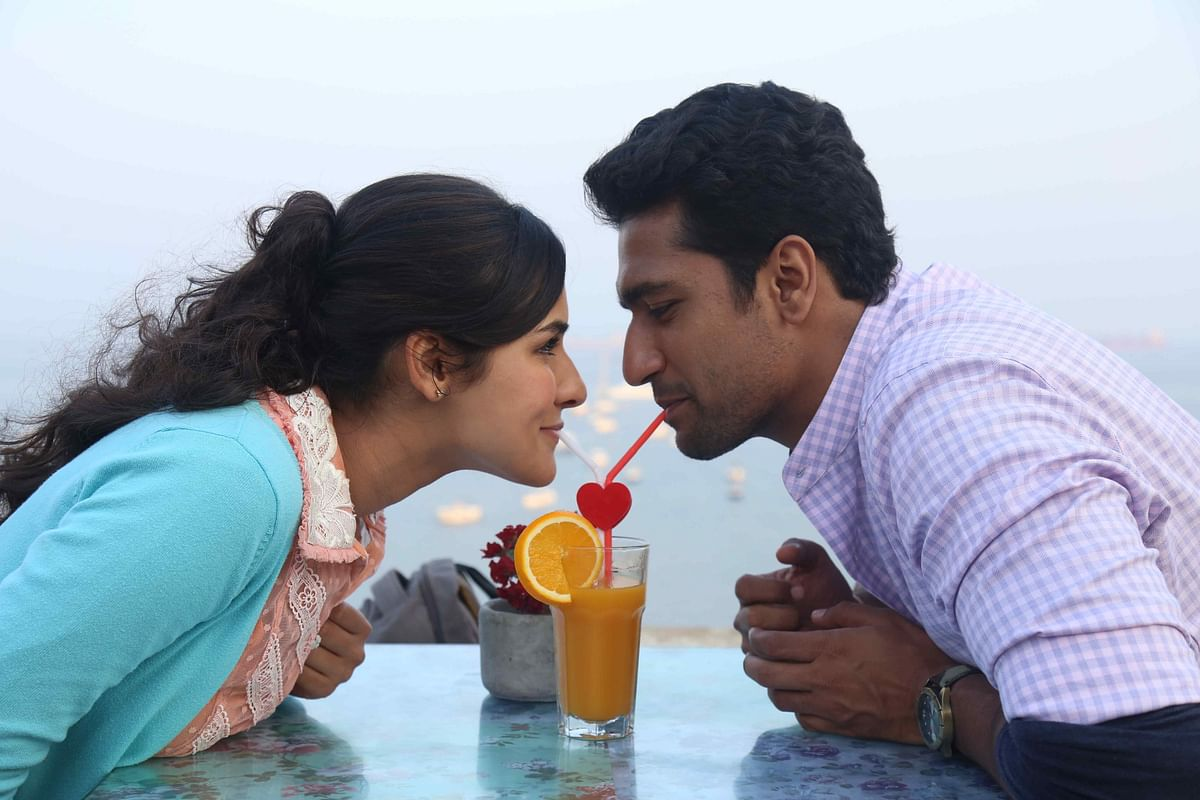 Angira Dhar and Vicky Kaushal in <i>Love Per Square Foot.</i>