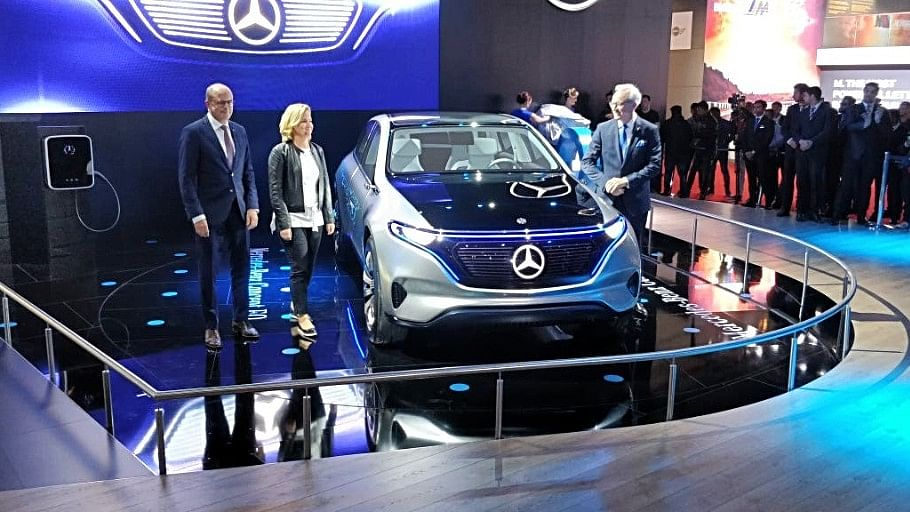 Mercedes Benz is also making electric cars, which involves a lot of software running inside.