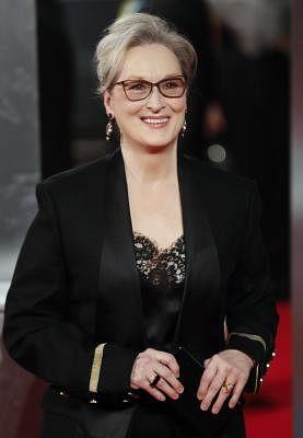Meryl Streep. (Xinhua/Han Yan/IANS)(zhf)