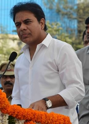 K. T. Rama Rao. (Photo: IANS)