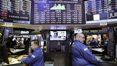 Dow Jones stock index hit by record falls. Image used for representational purposes.
