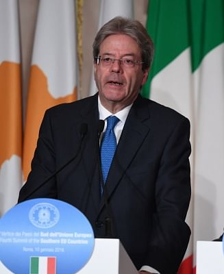 Italian Prime Minister Paolo Gentiloni. (Xinhua/Alberto Lingria/IANS)