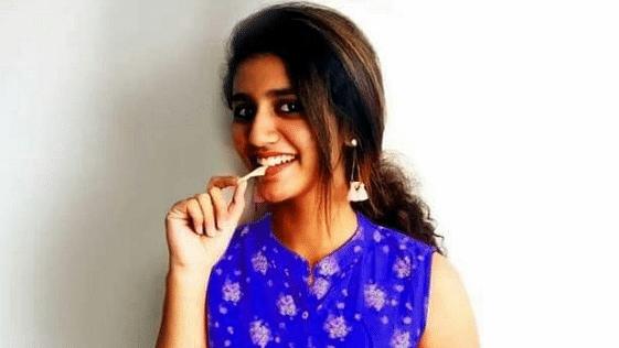 Priya Varrier endorses an international brand of chips on social media.
