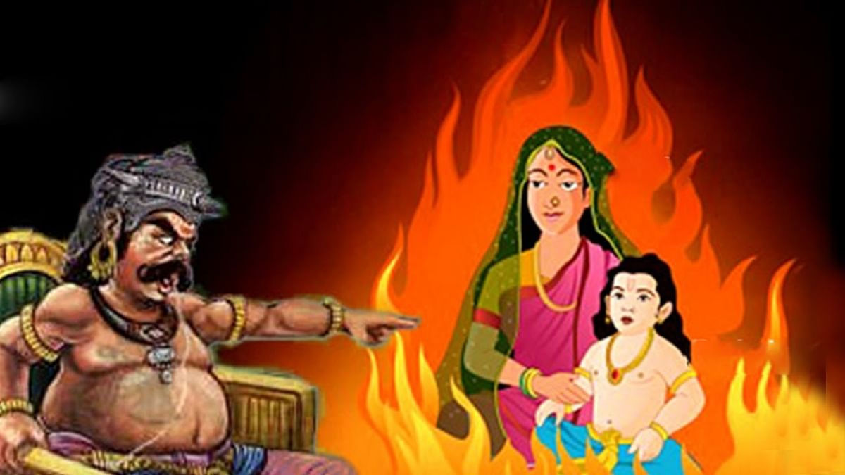 The legend of Holi is based on the legend of demon king Hirannakashipu, his devout son Prahlad, and his sister Holika – who jumped into a fire with her nephew.