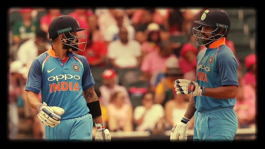 In Stats: How Dhawan Continues to Have Virat's Back in ODIs