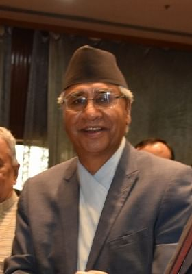 Prime minister of Nepal Sher Bahadur Deuba. (File Photo: IANS)