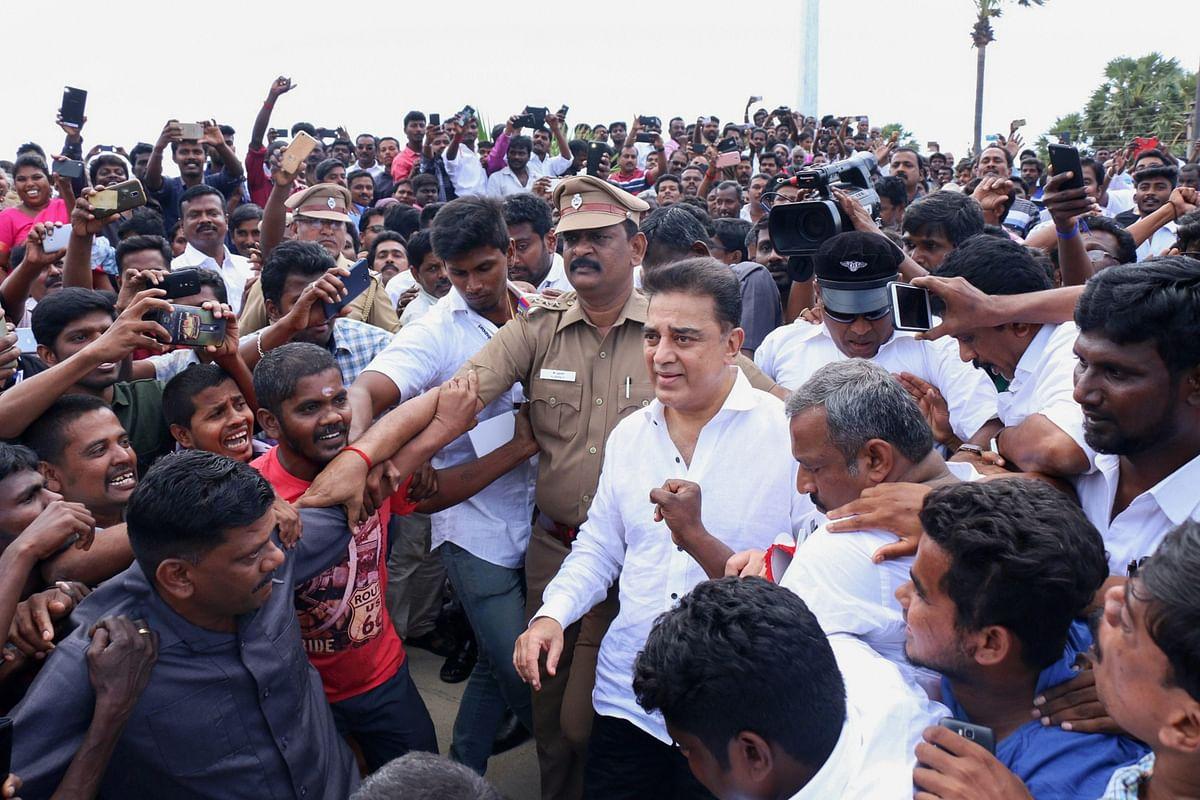 Kamal Haasan Takes the Political Plunge With 'Makkal Needhi Maiam'