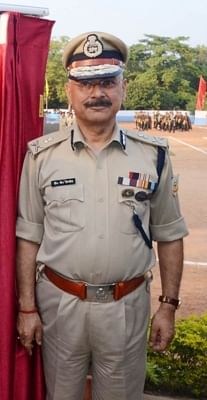 Jharkhand Police DGP D.K. Pandey. (File Photo: IANS)