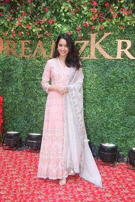 Mumbai: Actress Shraddha Kapoor during the