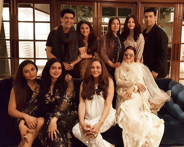 Bollywood stars on Sridevi's Birthday.